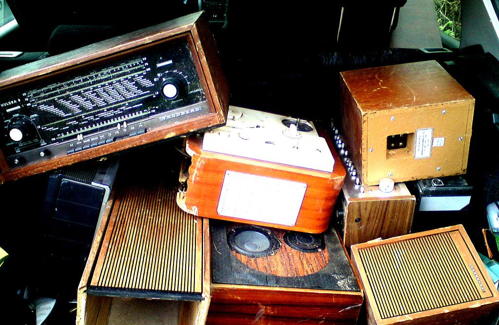 Diverse gjenbruk elektronikk